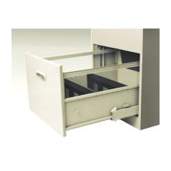 Card box drawer internal structure