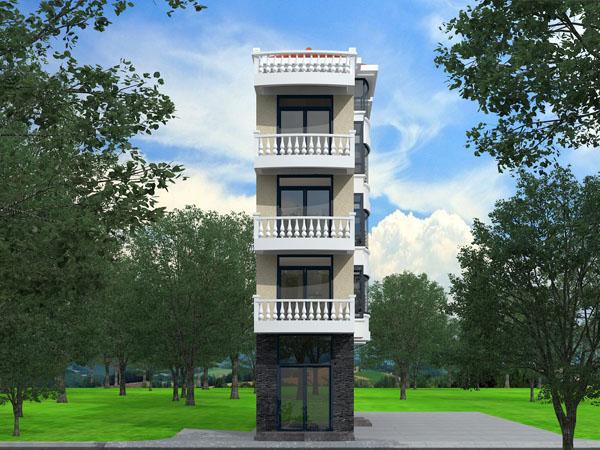农村设计师,圆弧自绘制设计,建房房屋设计,CAD时针顺别墅定制图片