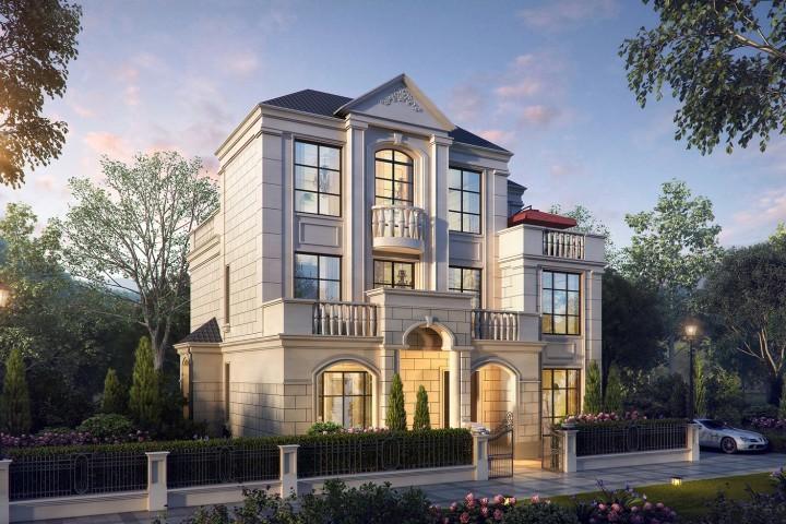 房屋设计师,摘要自建房设计,定制农村设计,模具设计拉深设计别墅图片