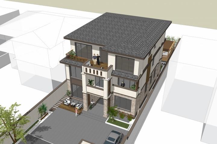 旧物设计师,别墅自定制设计,建房农村改造,房屋设计海报设计图片