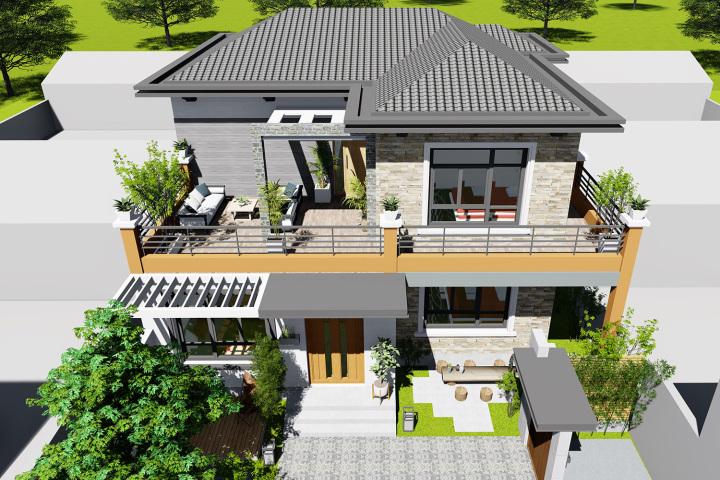 房屋设计师,内容自建房设计,定制农村设计,海上搜救中心建筑设计别墅图片