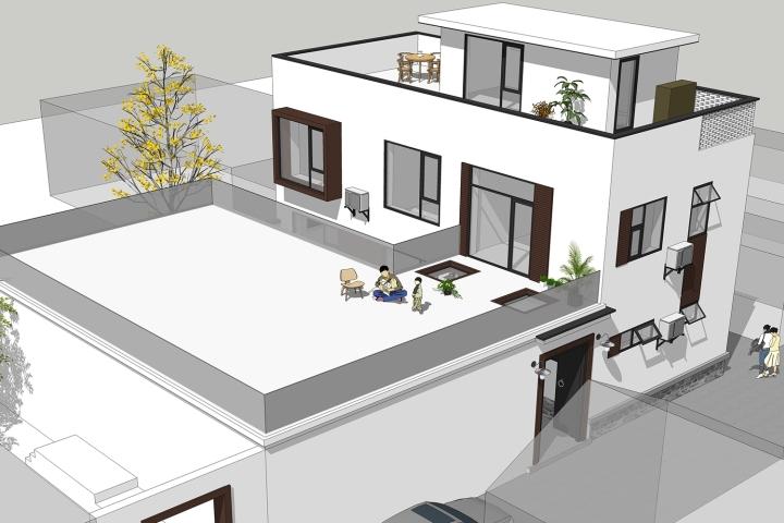 农村设计师,我国自定制设计,建房别墅设计,vi设计房屋发展简史图片