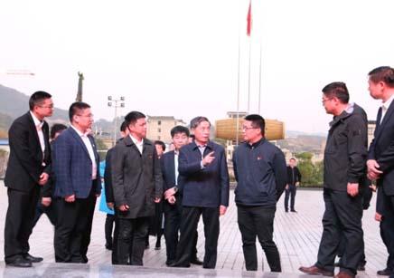 中央组织部副部长姜信治到学校视察
