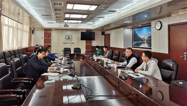 ag8 公司赴济南大学学习交流并洽谈合作