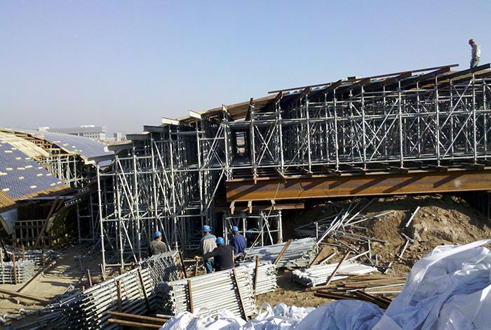 山西吕梁景观桥项目照片