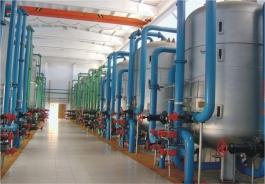 西安市第四污水处理厂-机械过滤器