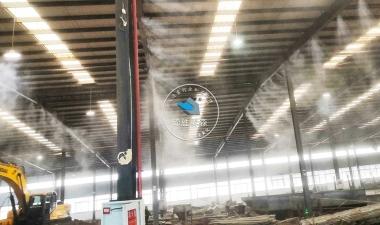 陶瓷厂生产车间—工业喷雾除尘