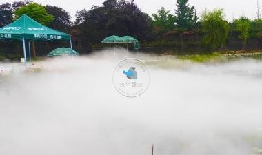 游玩好去处!喷雾造景!