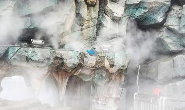 假山木石—自然生态水雾造景
