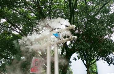 重庆武隆垃圾站超声波微雾除臭项目
