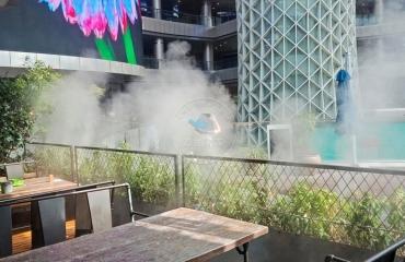 上海闵行区浦东新区胡桃里喷雾造景