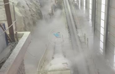 湖北黄石大冶灰石厂人造雾除尘项目