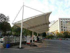 蚌埠高铁站公交车膜结构雨棚项目投入使用