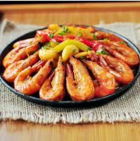 最好吃的香辣虾