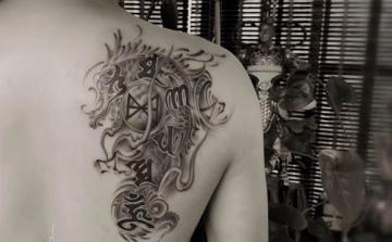 柳州纹身阿里纹身作品