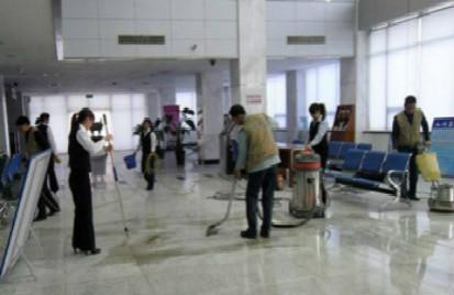 机场大型开荒保洁