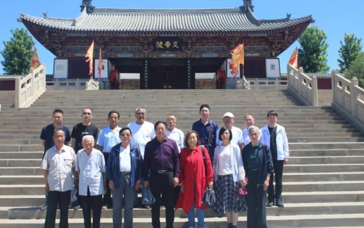 釜山文化研究会赴山西进行文化采风