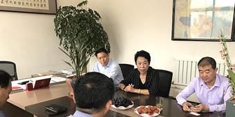 青岛即墨区贸促会商会副会长、秘书长,青岛城阳知识产权协会会长于垂磊等一同走访调研即墨知名企业