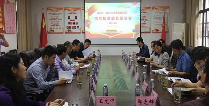 湖北省委统战部组织院士专家赴英山开展服务活动