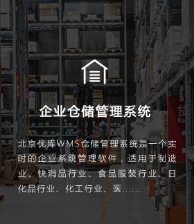 企业仓储管理系统
