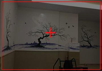 休闲区壁画