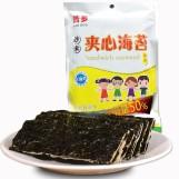 浩多夹心海苔儿童零食即食紫菜海苔12g促