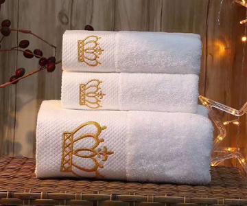 两面针酒店宾馆客房浴巾