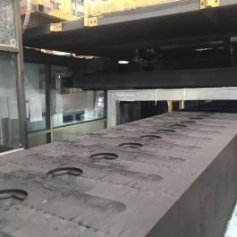 铸造厂用耐灼烧耐高温型输送带