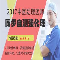 2017中医助理医师同步自测强化班