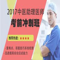 2017中医助理医师考前冲刺班