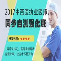 2017中西医执业医师同步自测强化班