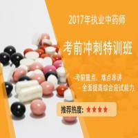 2017年执业中药师考前冲刺特训班