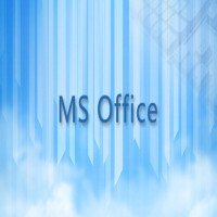 MS Office基础学习班