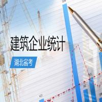 建筑企业统计(湖北省考)串讲班