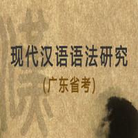现代汉语语法研究(广东省考)基础学习班