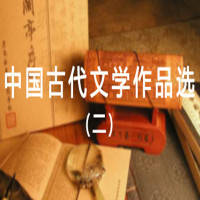中国古代文学作品选(二)应试冲刺班