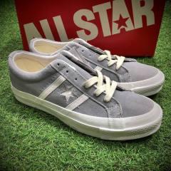 限定,日本高端線制!廣東貨源,匡威 CONVERSE JACK STAR STAR&BARS J SUEDE 杰克一星系列復古硫化板鞋