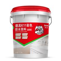 德高k11防水通用�l生�g屋�防水�B透型防水涂料 �Φ孛娣浪�材料