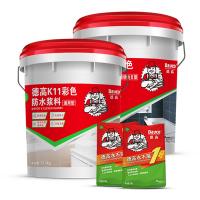 德高K11防水套餐�{���G地�l生�g防水 防水涂料防水材料��所