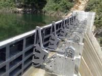 连杆滚轮式水力液压双控(钢制)翻板闸门
