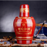 醇柔53°老白汾酒    475mlx6瓶装