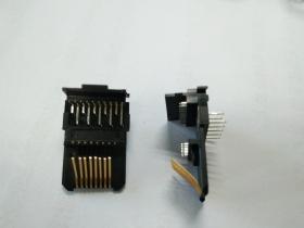 RJ45 25.4 结构件 不带盖板