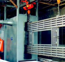 Q38 48 58系列悬链式抛丸清理机