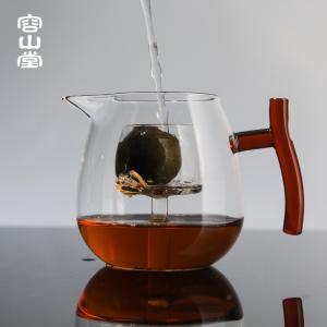 容山堂玻璃公道杯泡茶器耐热加厚过滤内胆花