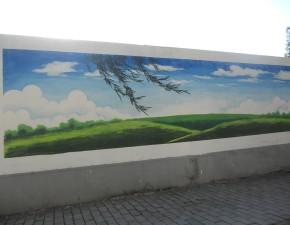 墙上绘画6