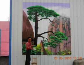墙上绘画5