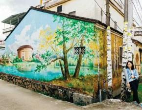 墙体绘画1