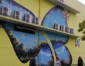 墙体绘画2