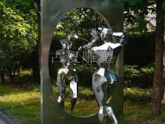 不锈钢人像雕塑-上海古夏公司 厂家直销