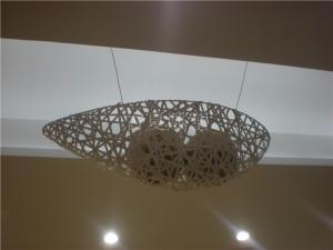 酒店大堂吊饰品雕塑装置